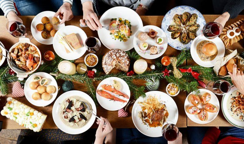 Repas de Noël chez Food Traboule à Lyon