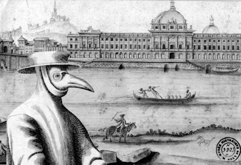 Histoire des épidémies à Lyon