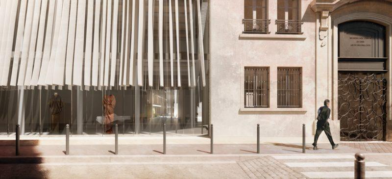 Musée des Tissus - Rénovation