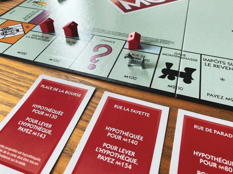 Hypothèque Monopoly