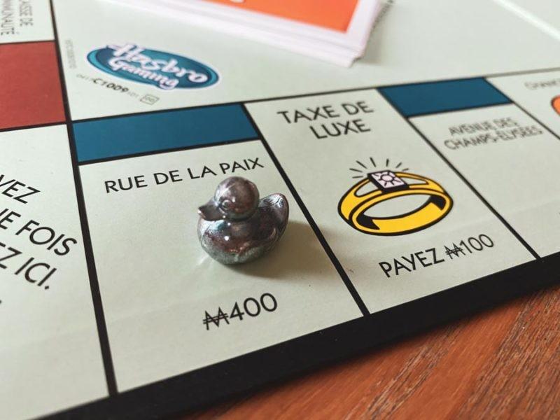 Rue de la Paix Monopoly