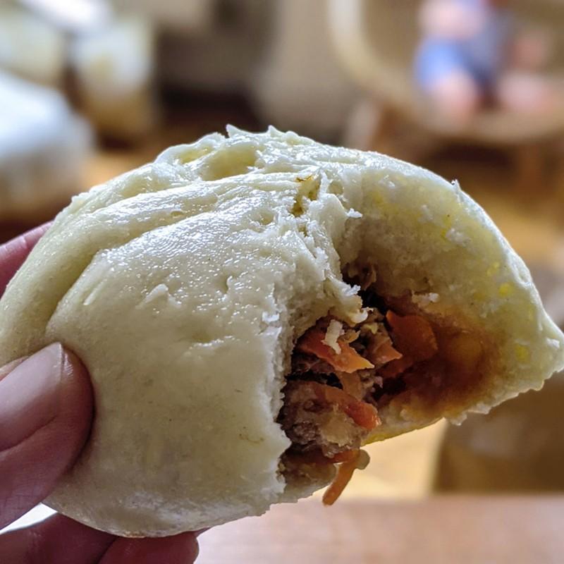 Bao au porc Lyon