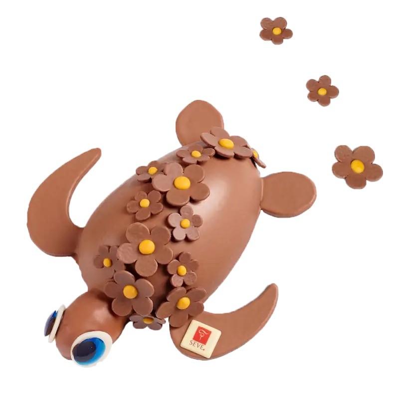 Tortue en chocolat