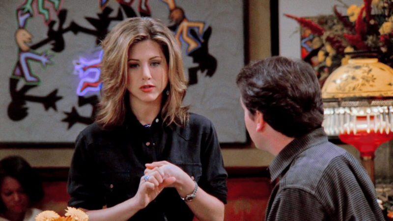 La coupe de cheveux dans Friends