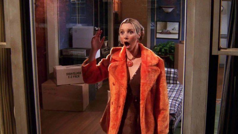 Phoebe découvrant chez Chandeler et Monica couchent ensemble