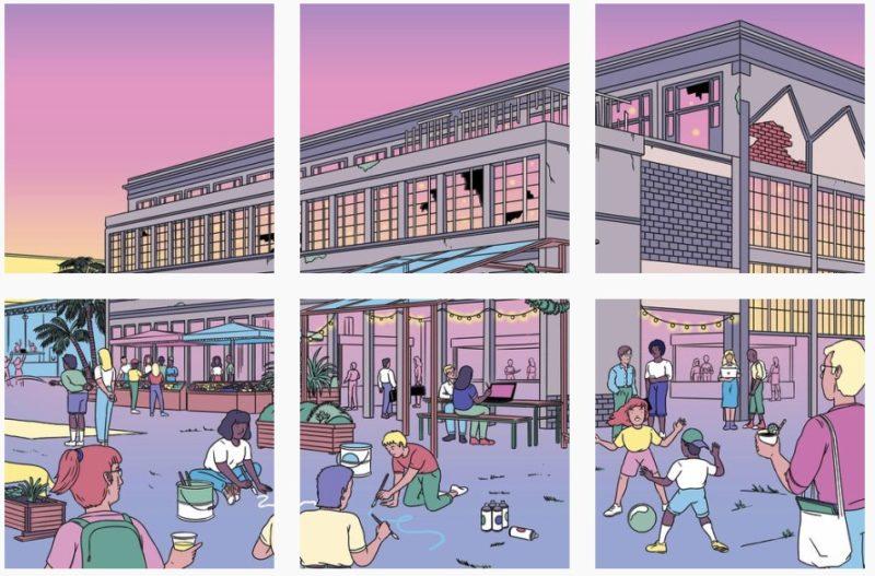 Où se trouve la Cité des Halles à Lyon