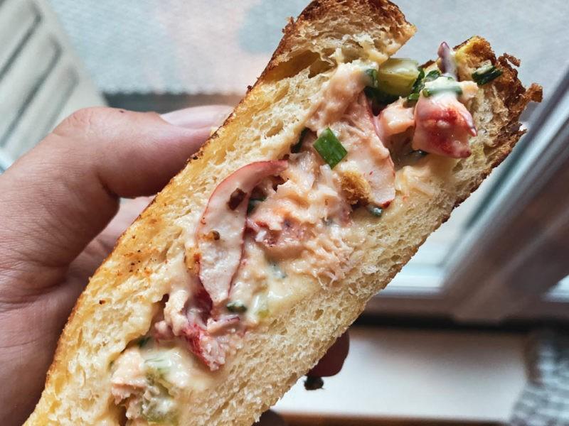 Sandwich au homard Lyon