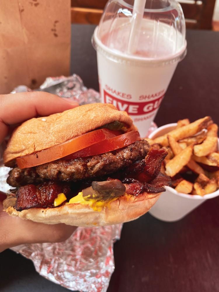 Menu Burger Bacon