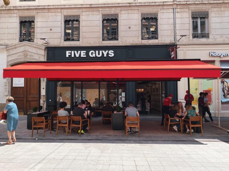 Five Guys à Lyon