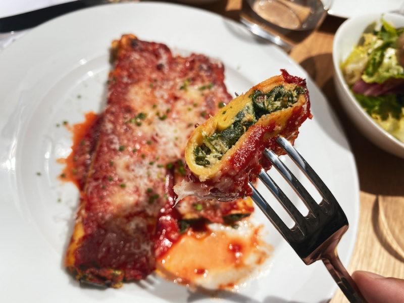 cannelloni vegetariani
