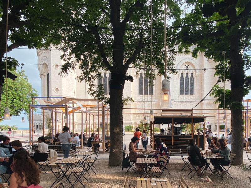 Restaurant sur l'Esplanade de Fourvière